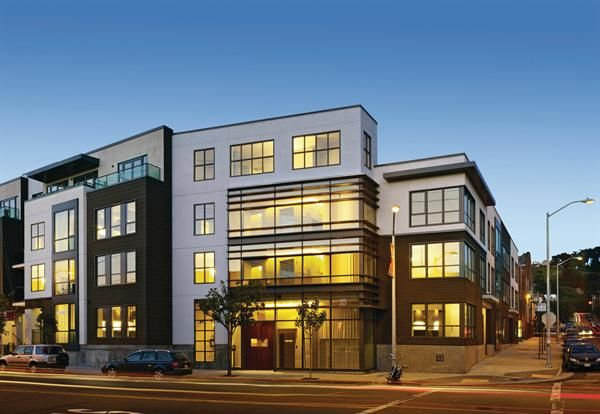 Slideshow: Mid-Rise Buildings - Design, Mid-Rise Projects, Affordable Housing, Mixed-Use Development, Mixed-Income Housing, Infill, Multifamily, Multifamily Building - Builder Magazine