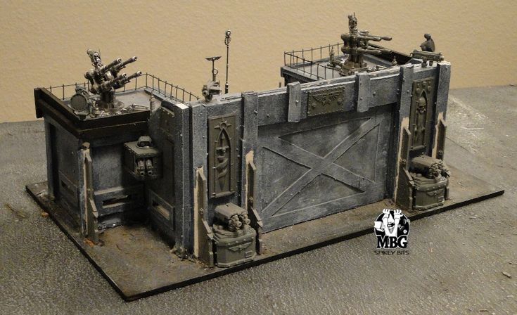 Terrain Workshop: Fortress Maximus, Imperial Outpost | Spikey Bits