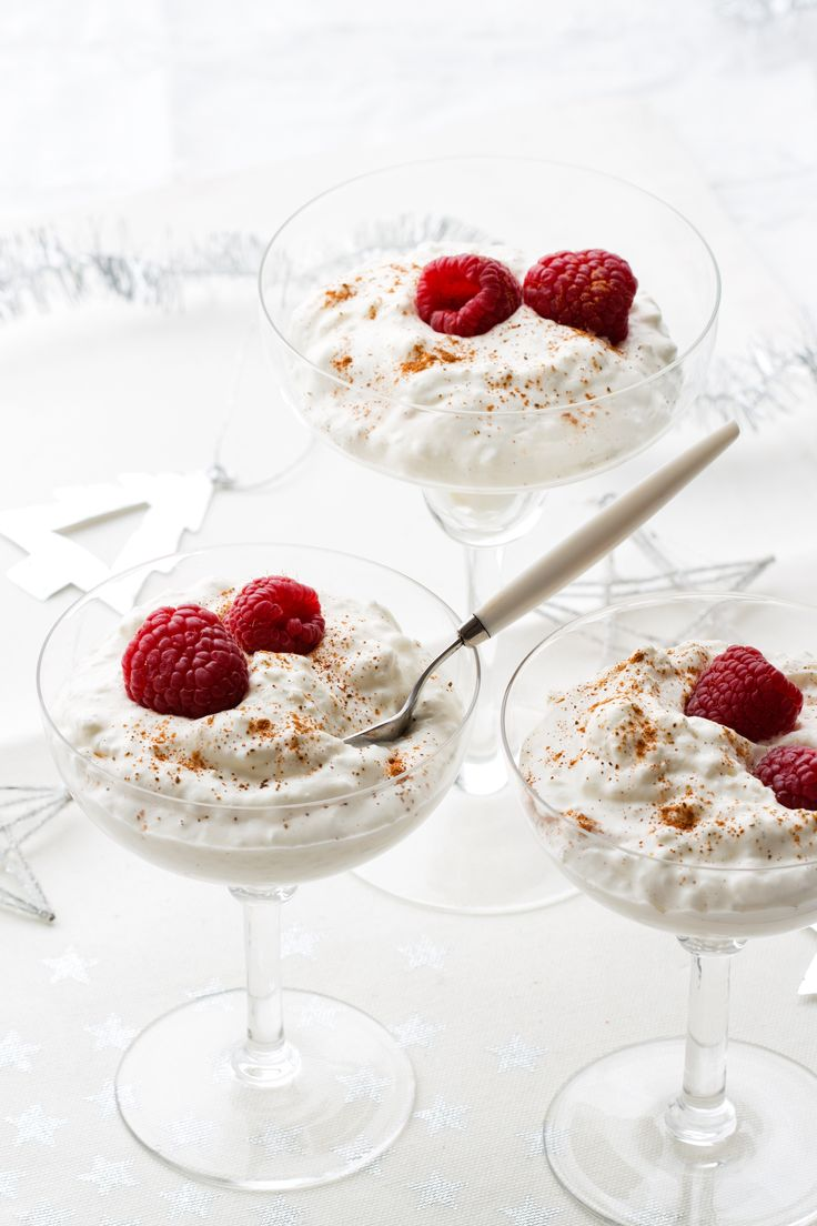 Creamy Low Carb Rice Pudding. Cottage Cheese ...
