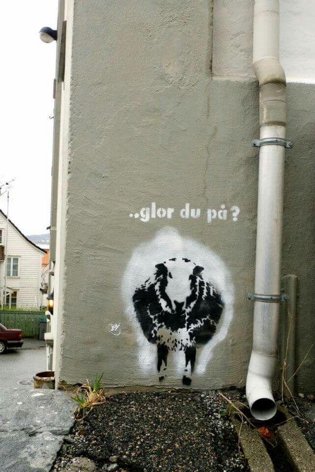 Joy Street art Bergen