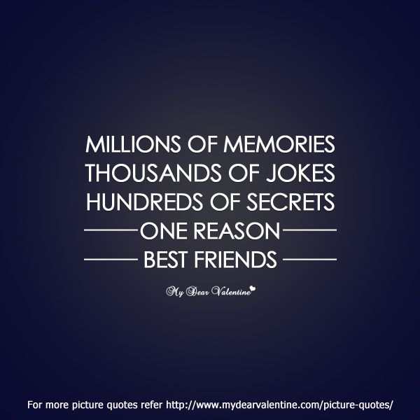 Sad I Miss You Quotes For Friends: Millions Of Memories, Thousands Of Jokes, Hundreds Of