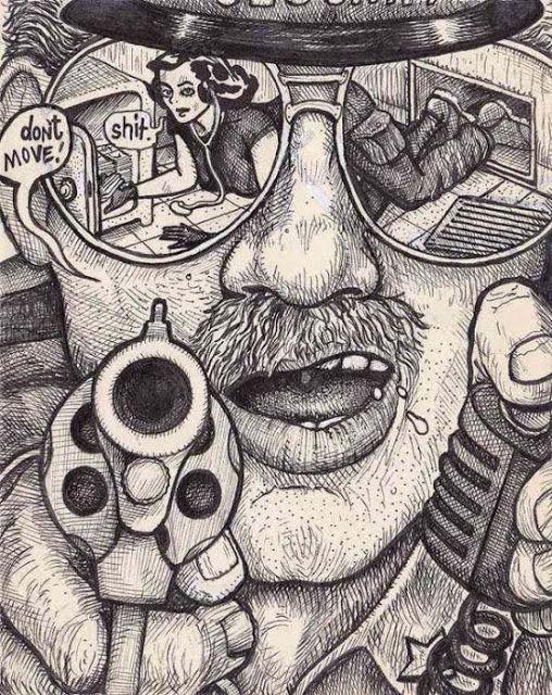 Bisolhada - Site de humor - vídeos engraçados whastApp, Facebook: Dê um desenho cego para vários artistas diferentes e tenha resultados incríveis