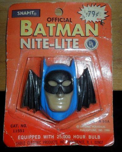 1966-Batman-Nite-Light-MOC-1960-039-s-Never-Used-LOOK