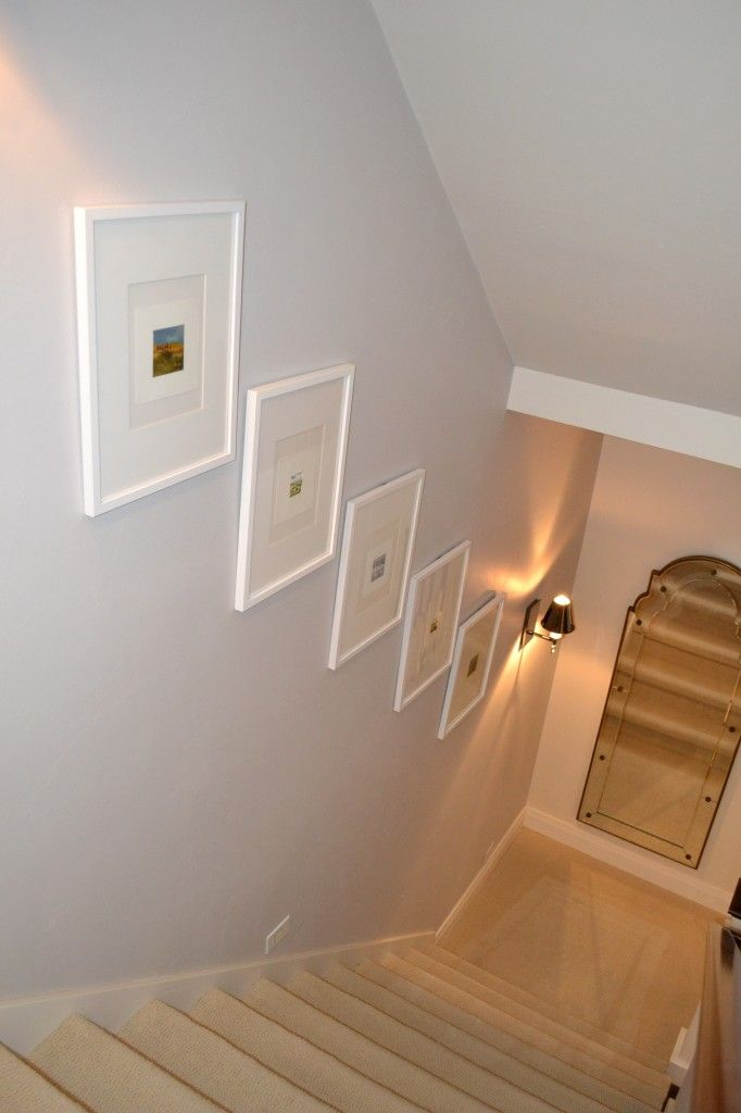 decor for an enclosed stairwell   Stairwell decorating ...