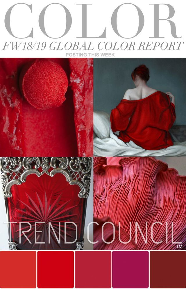 TRENDS // TREND COUNCIL - KEY COLOR PALETTES . FW 18/19 | FASHION VIGNETTE | Bloglovin'