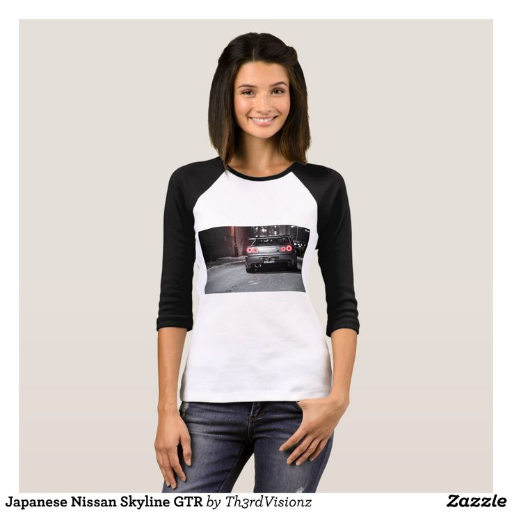 Japanese Nissan Skyline GTR T-Shirt - Fashionable Women's Shirts By Creative Talented Graphic Designers - #shirts #tshirts #fashion #apparel #clothes #clothing #design #designer #fashiondesigner #style #trends #bargain #sale #shopping - Comfy casual and loose fitting long-sleeve heavyweight shirt is stylish and warm addition to anyone's wardrobe - This design is made from 6.0 oz pre-shrunk 100% cotton it wears well on anyone - The garment is double-needle stitched at the bottom and sleeve…