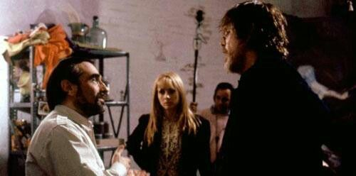 Martin Scorsese, Nick Nolte and Rossana Arquette.  Lessons of life.