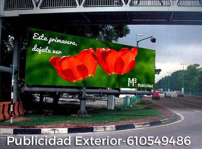 Publicidad Exterior, Vallas, Mupis, Marquesinas, Monopostes, Gran Formato, Lonas, Más información  M3 Publicidad 610549486