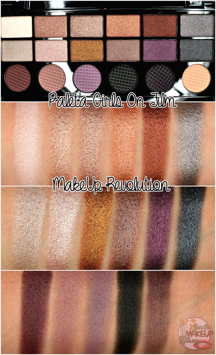 Girls on Film - Makeup Revolution palette