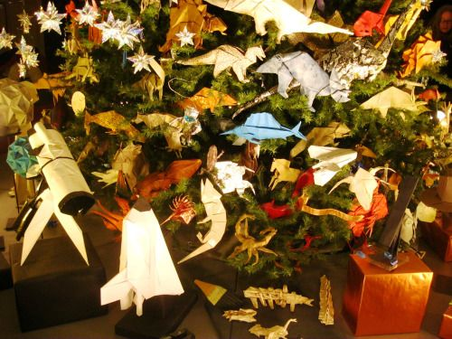 New York Museum of Natural History Christmas tree rockets