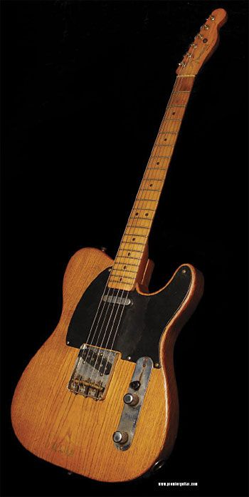 """Sigh ... """"This gorgeous guitar comes compliments of Johnny Edwards at Coffin Case, and is numbered #0099. This was found in an Alaskan attic, and had one prior owner."""""""