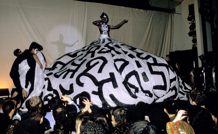 Grace Jones on New Year's Eve 1987. The Roseland Ballroom's 95-Year History