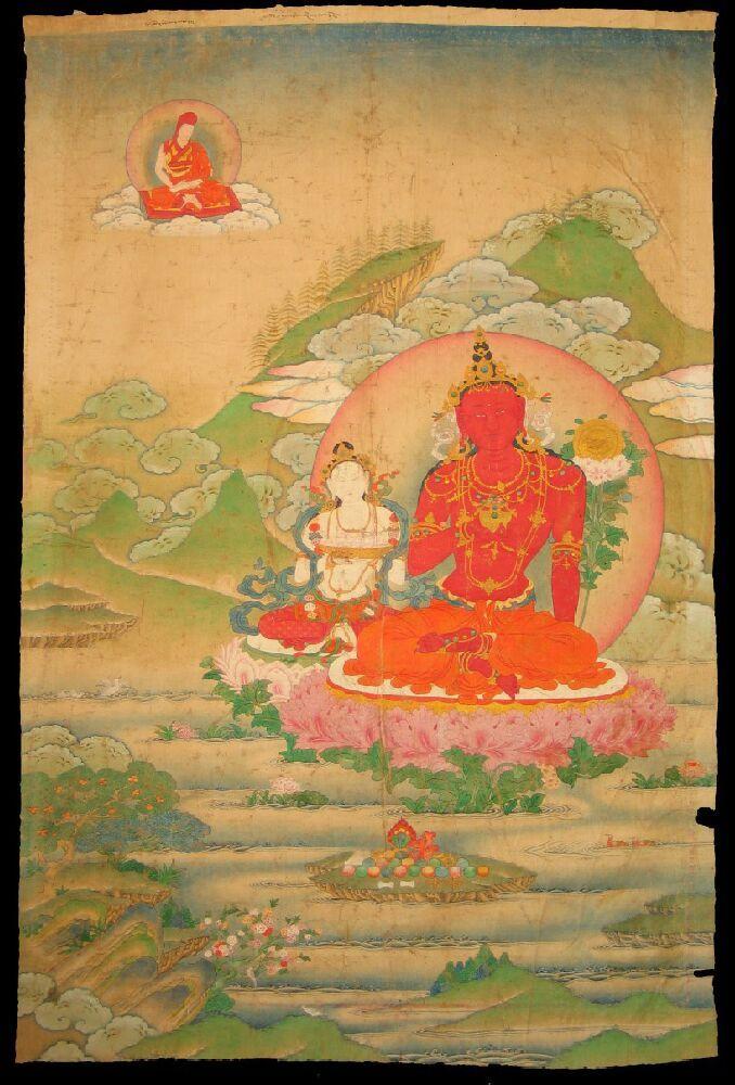 King - of Shambhala (item no. 65297)  Tibet Buddhist Lineage Collection of Rubin Museum of Art #PinPantone