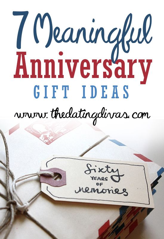 Meaningful Anniversary gift ideas