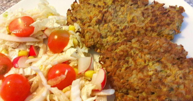 Pohánkové placky so zeleninou: Spravte si miesto tradičných zemiakových placiek pohánkové placky so zeleninou. Vaše telo aj vaše zdravie vám bude vďačné za takúto kombináciu potravín.