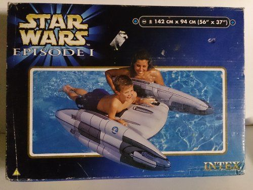 Star Wars Trade Federation Droid Starfighter Pool Ride-On $65.00 + 6.09 shipping