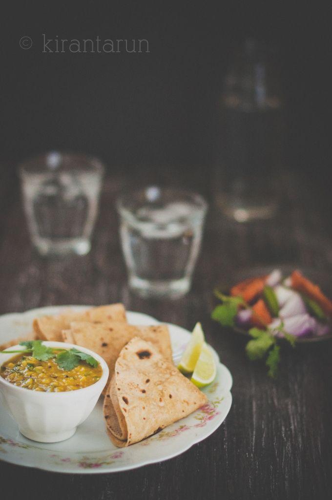 Homemade Chapati {Indian flat-bread} #recipe