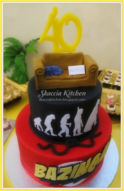 SKACCIA KITCHEN: The Bing Bang Theory Cake