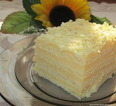 Witam kochani dziś przychodzę do Was z bardzo pysznym ciastem o pięknej nazwie Aniołek :) Dlaczego aniołek, a no dlatego, że jest całe bie...