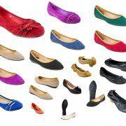 60 pairs of Women Flat Shoes Moka per 3, 50 EUR style: balle_mix