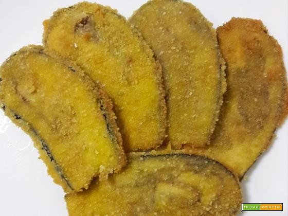 Melanzane impanate fritte – ricetta sfiziosa  #ricette #food #recipes
