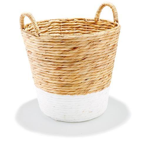 White Dipped Basket | Kmart
