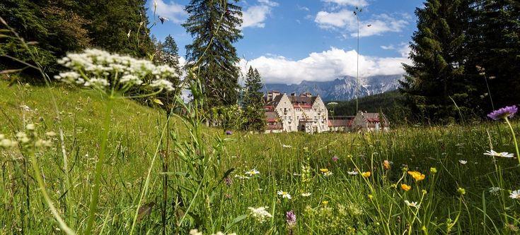 Wellnesshotel Kranzbach - mitten in der Natur. (@ via Kranzbach) - www.daskranzbach.de