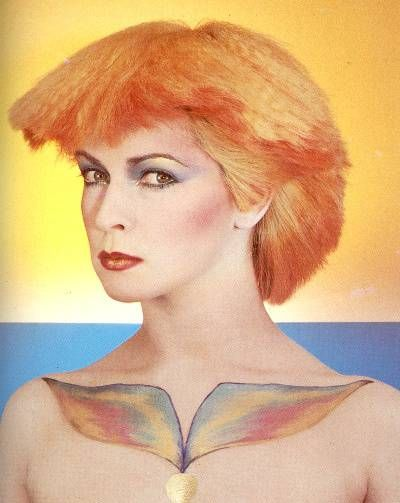 Love this image of Toyah Wilcox hair & makeup!