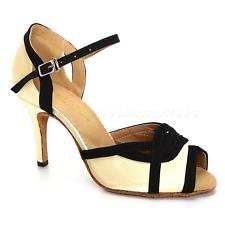 Hot Sale High Heel 8.5cm Women Ballroom Dancing Modern Dance Latin Shoes JNEG