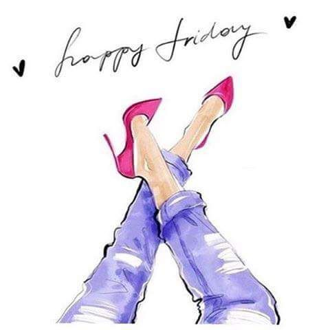 TGIF!!! I for one could not be any happier to be able to say that! Hope you all have an awesome Friday! #TGIF #longweek