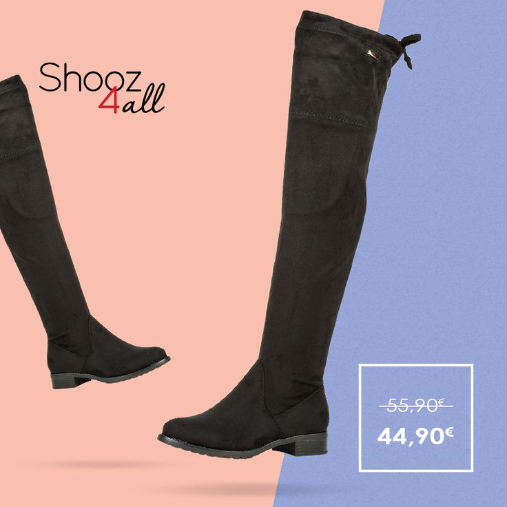 Φλατ over the knee μπότες http://www.shooz4all.com/el/gynaikeia-papoutsia/flat-over-the-knee-mpotes-156-detail #shooz4all #flat #over_the_knee #mpotes