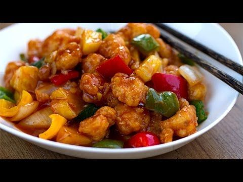 Pollo agridulce (estilo chino) | Cocino Thai