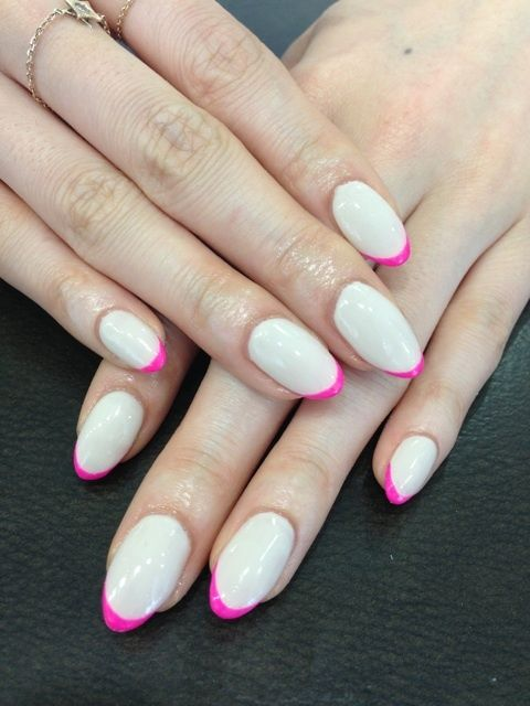 Would love this manicure with squared nails