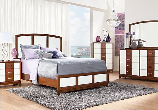 Shop for a Sofia Vergara Viola 5 Pc Queen Bedroom at Rooms To Go ...