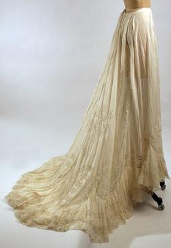 Skirt (Underskirt) ca. 1900