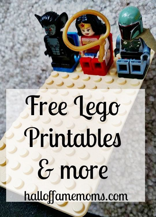 FREE Lego Printables and Activities