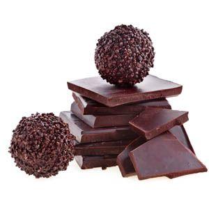 Σοκολατένιο τρουφάκι για μικρά και ... μεγάλα παιδιά. Κανείς δεν μπορεί να αντισταθείσε ένα σοκολατένιο τρουφάκι ακόμα και όταν νηστεύει. Μια συνταγή νηστί