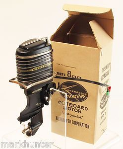 Vintage toy Mercury outboard