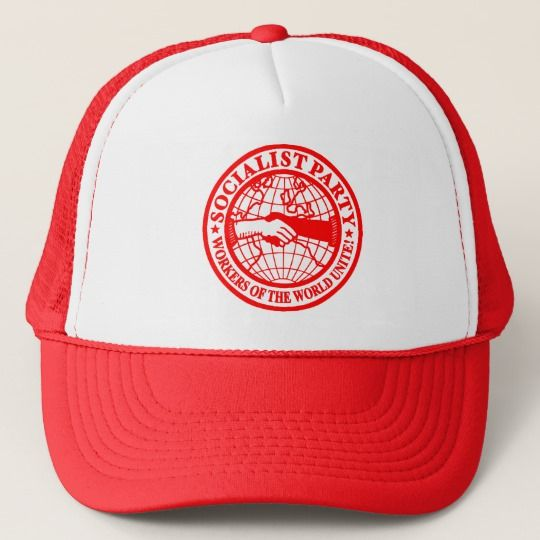 The Socialist Party USA (SPUSA or SOC) Trucker Hat