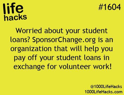 Student Loan help/hack