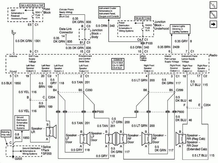 2001 Gmc Sierra Wiring Diagrams Wiring Forums 2004 Chevy Silverado Chevy Silverado Chevy Silverado 1500