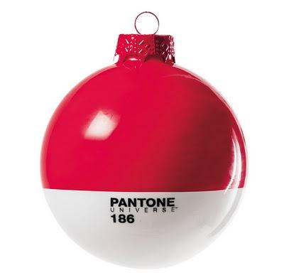 Pantone christmas ornaments by Studio Badini Createam for Selab