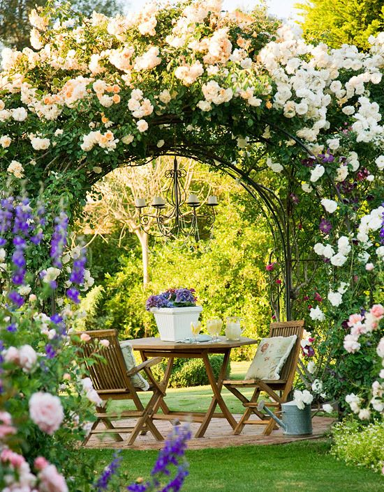 blossom arched doorway
