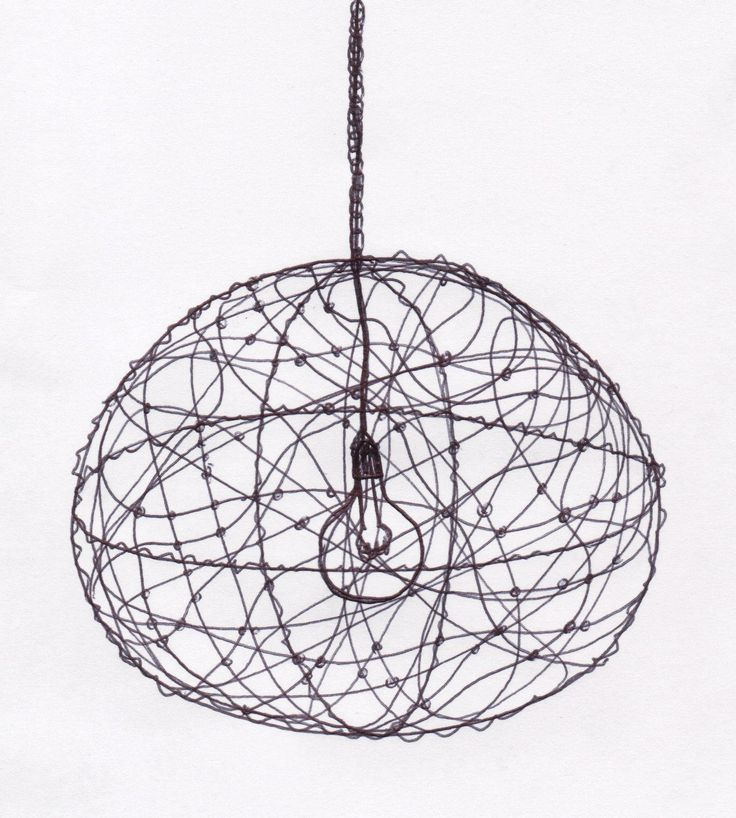 547 best lighting images on pinterest chandeliers light diy for this beautiful wire lampshade keyboard keysfo Choice Image