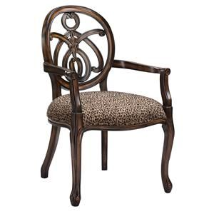 Animal print chair oh make a vignete with the animal for Cheetah print living room furniture
