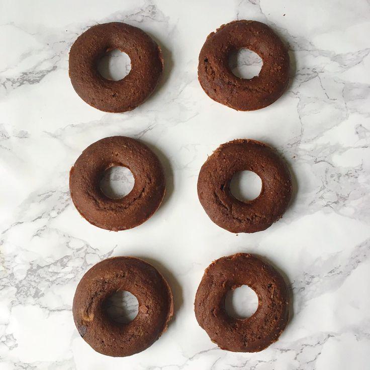 chocolate baked doughnuts recipe- gluten free + vegan