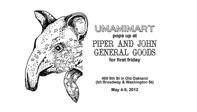 We're popping up in Old Oakland, CA! Come by and say hi next Friday.: We R Pop, Pop Up