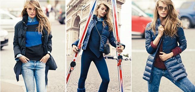 Anorak es una chaqueta impermeable, cuyo largo es hasta la cadera.