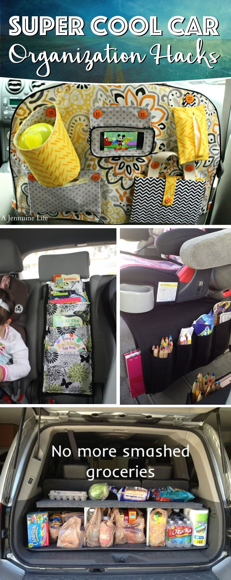 20 Super Cool Car Organization Hacks