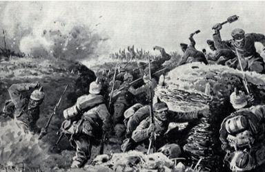 Offensiva russa sulle sponde del Lago di Naroch